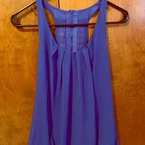 Juniors Blue Dress with Pockets